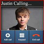 Justin Bieber Calling App