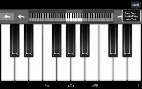 Virtual Piano - screenshot thumbnail