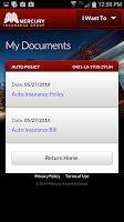 Screenshot of Mercury Portal