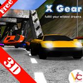 3D car racing xgear