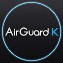 에어가드K(미세먼지/황사/실내공기/날씨/공기측정/공기) icon