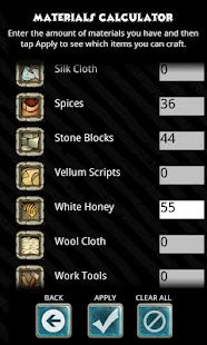 Crafting Guide - screenshot thumbnail