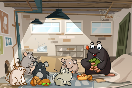 Mole Story for kids 7-9 years