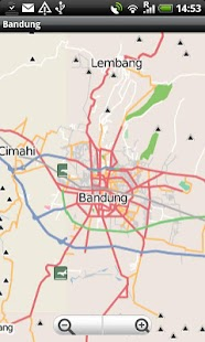 Bandung Street Map - screenshot thumbnail