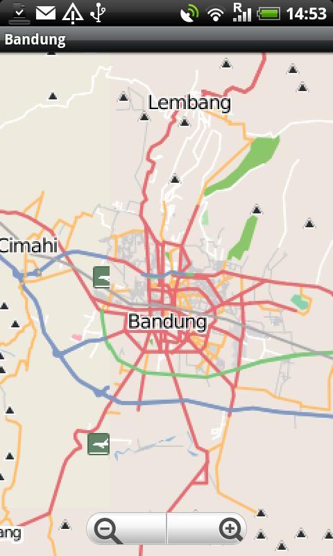 Bandung Street Map - screenshot