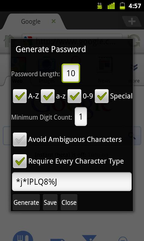 LastPass for Dolphin *Premium - screenshot
