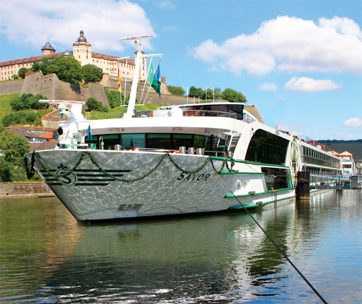 Tauck's 130-passenger Savor accommodates up to 130 passengers on itineraries along the Danube River to such river cities as Munich, Nuremberg, Vienna and Passau, Germany.