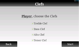 Screenshot of Game of Clefs