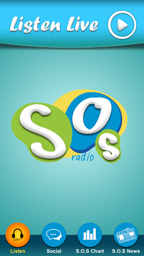 S.O.S Radio Application - screenshot