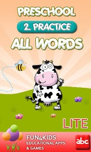 Preschool All Words 2 Lite - screenshot thumbnail