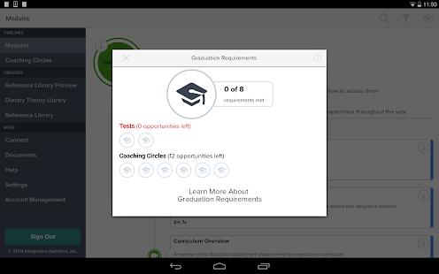 IIN Learning Center screenshot