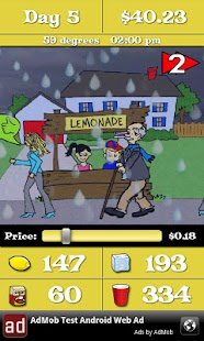 Lemonade Stand- screenshot thumbnail