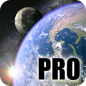 Tải Earth & Moon in HD Gyro 3D PRO Parallax Wallpaper APK