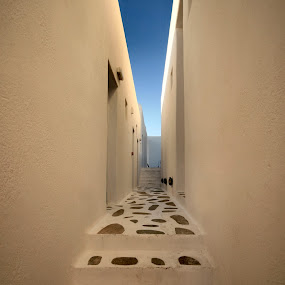 Santorini Sky by Kelly Maize - Buildings & Architecture Other Exteriors ( greek, greece, stone, travel, hotel, santorini,  )
