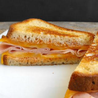 Barbecue Grilled Cheese and Turkey Sandwiches