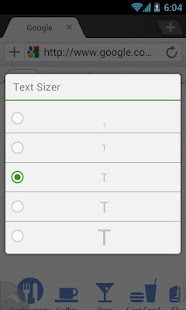 Dolphin: Text Sizer- screenshot thumbnail