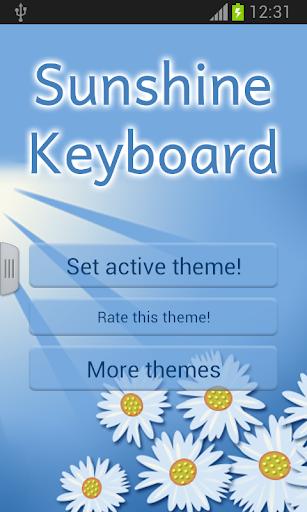 Sunshine Keyboard