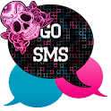 GO SMS - Sugar Skullz icon