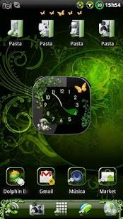 Nature v2 Clock widget- screenshot thumbnail