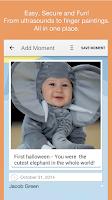 Screenshot of Moment Garden  Baby Photo Book