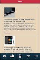 Screenshot of Samsung Galaxy Nexus REVIEW