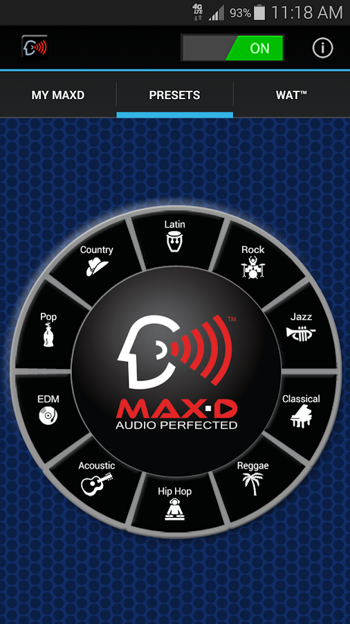 MAX-D  HD Audio Player- screenshot