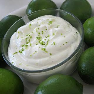 Key Lime Pie Fruit Dip.