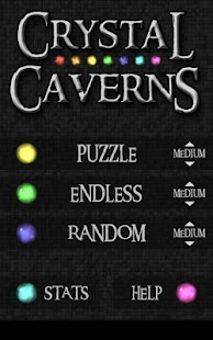 Crystal Caverns Free - screenshot thumbnail