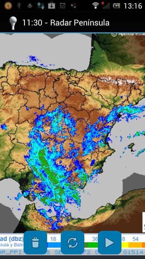Meteo Radar-ES - screenshot