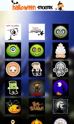 Halloween Chatting Stickers
