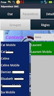 Repondeur SMS - screenshot thumbnail