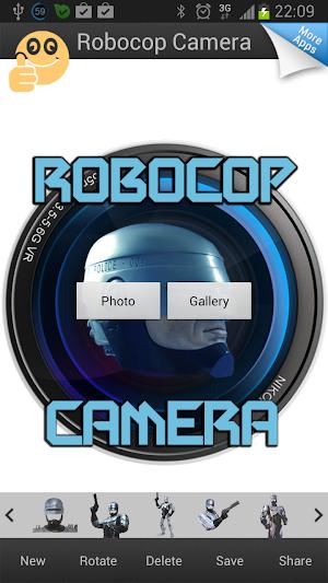 Robocop Face Changer apk screenshot