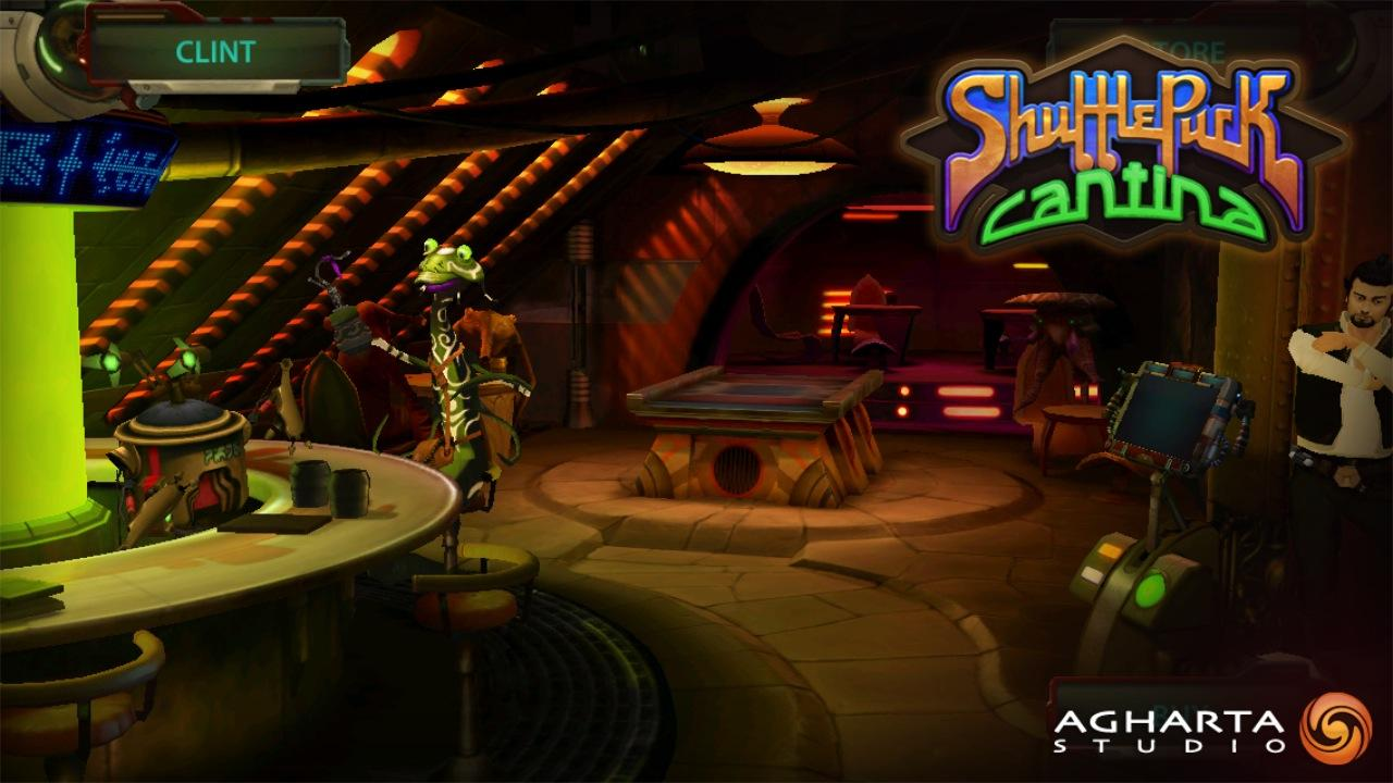 Shufflepuck Cantina- screenshot
