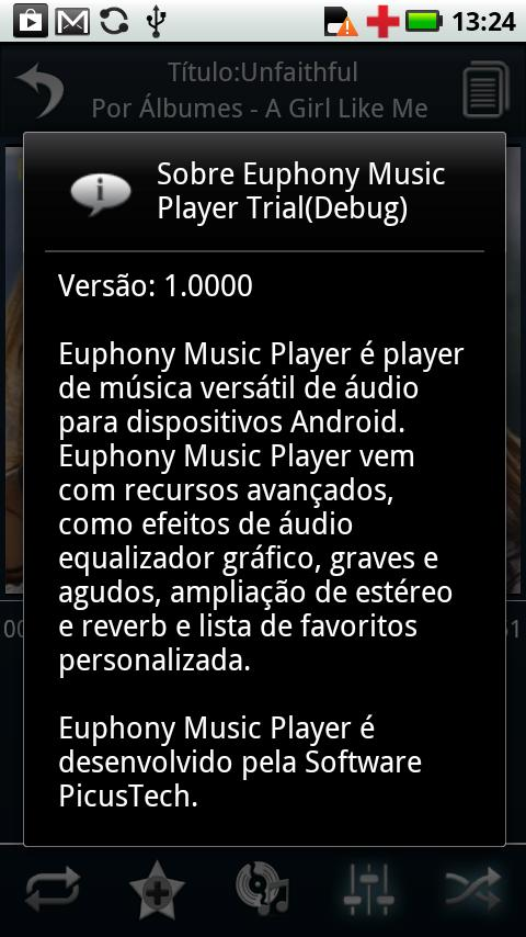 Portuguese Language Euphony MP- screenshot