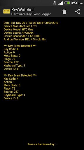 【免費工具App】KeyEvent / Keyboard Debugger-APP點子