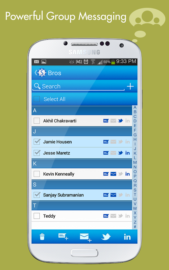 Spydy Contacts- screenshot