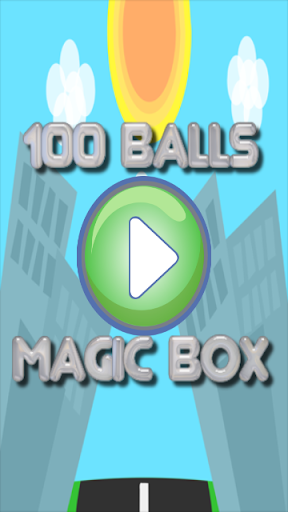 100 Balls Magic Box