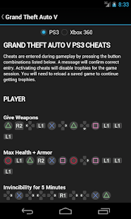 GTA Cheats - for all GTA games - screenshot thumbnail