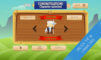 Screenshot of Running Heroes