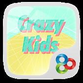 Crazy Kids GO Launcher Theme