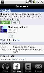 BlackMartini Radio - screenshot thumbnail