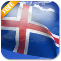 3D Iceland Flag Live Wallpaper icon