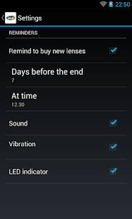 Contact Lenses - screenshot thumbnail