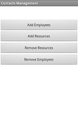 Contacts Management XML + Sync
