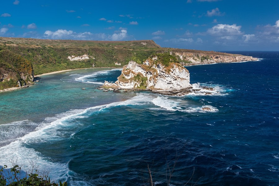 Bird's Island in Saipan by Rudy Capistrano - Landscapes Mountains & Hills (  )