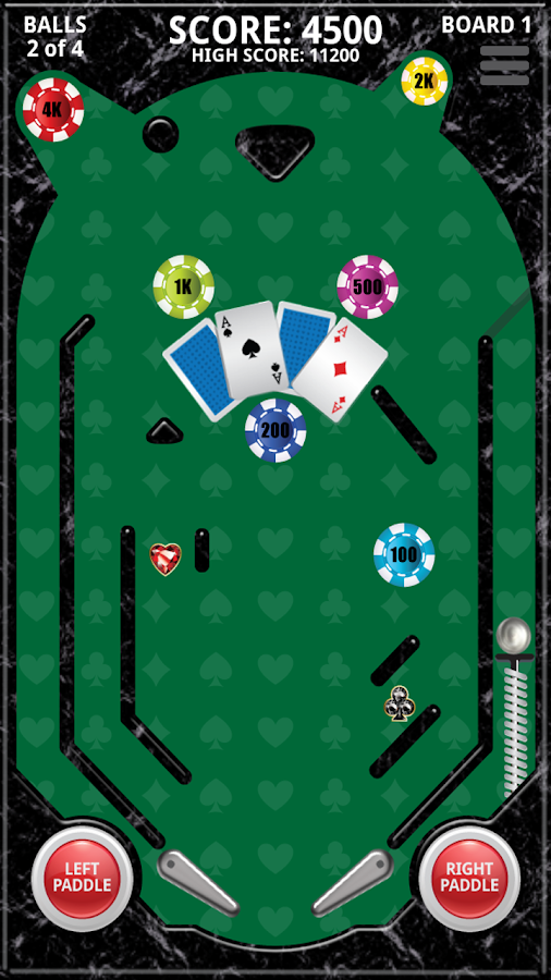 Mini Pinball Poker Free- screenshot