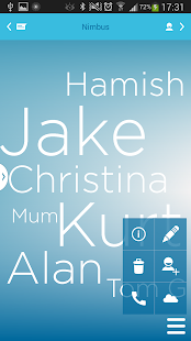 Nimbus Contacts Free - screenshot thumbnail