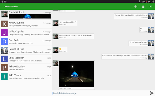 Conversations (Jabber / XMPP) Screenshot