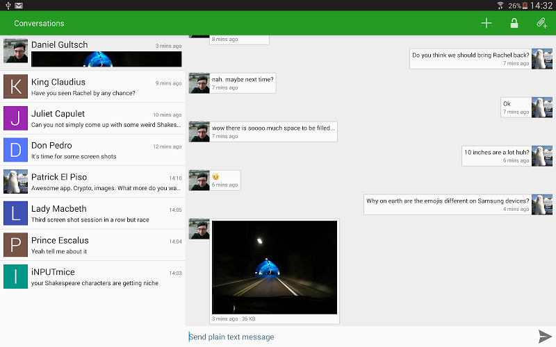 Conversations (Jabber / XMPP) Screenshot 6