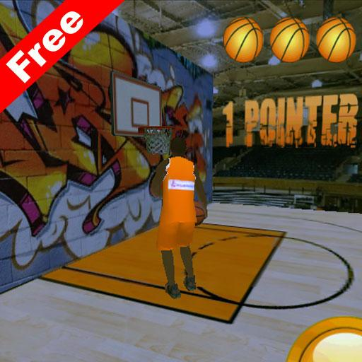 バスケットボールゲーム3D 體育競技 App LOGO-硬是要APP